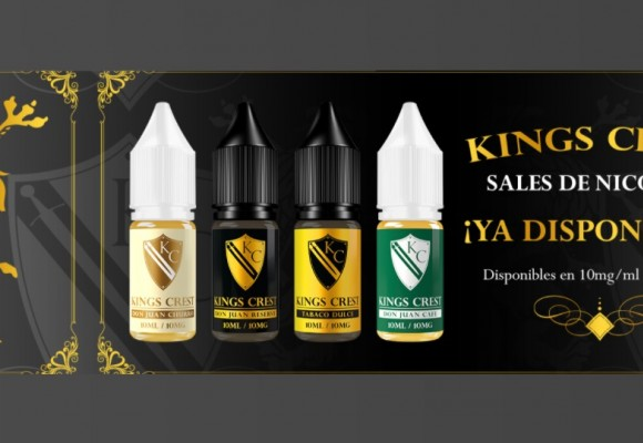 Sales de nicotina para vapear Kings Crest