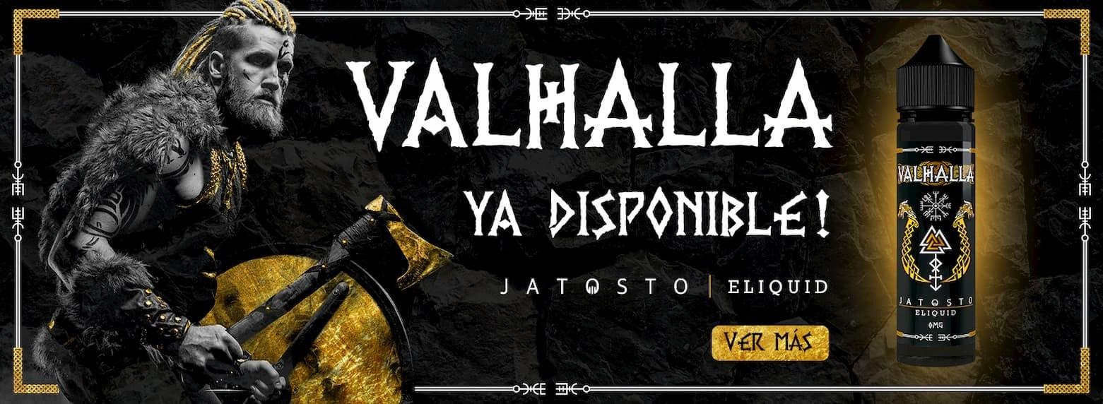 Comprar Jatosto eliquid Valhalla