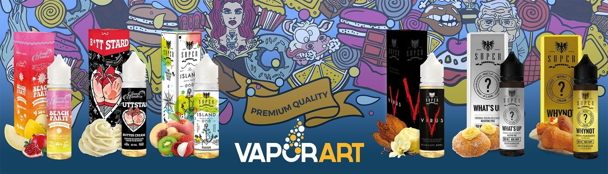 Comprar VaporArt líquidos para vapear precio barato
